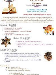 I Jornadas Culturales Sefardíes (del 24 y 27 de junio)