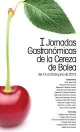Jornadas gastronómicas de la cereza de Bolea (del 13 al 23 de junio)