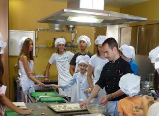 Curso de cocina para niños (julio)