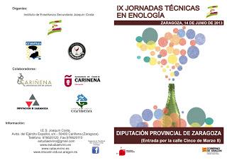 IX Jornadas Técnicas en Enología (viernes, 14)