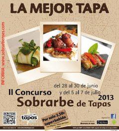 Concurso de tapas de Sobrarbe (del 28 al 30 de junio y del 5 al 7 de julio)