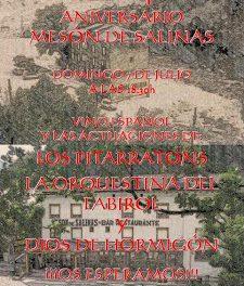 40 aniversario del Mesón de Salinas (domingo, 7)