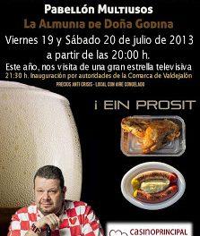 Feria de la cerveza (Días 19 y 20))