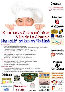 Jornadas gastronómicas (Del 15 al 18)