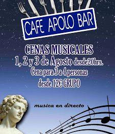 Cenas musicales (del 1 al 3 de agosto)