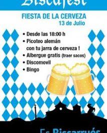 Fiesta de la cerveza en Biscarrués (sábado, 13)