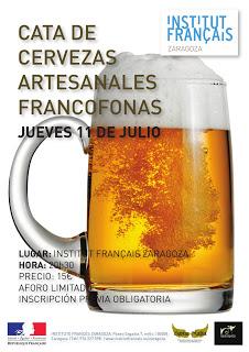 Cata de cervezas francófonas (jueves, 11)