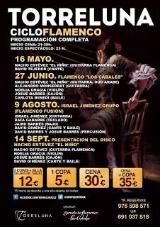 Cena y flamenco (viernes, 9)