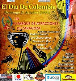 Día de Colombia (domingo, 21)
