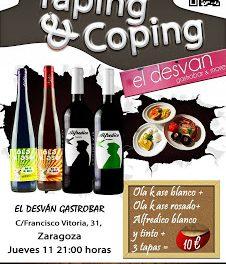 Taping & Coping en el Desván (jueves, 11)