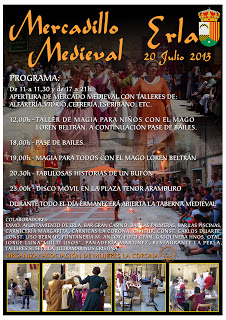 Mercadillo medieval (sábado, 20)