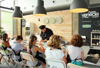 Taller de cocina infantil en Puerto Venecia (jueves, 25)