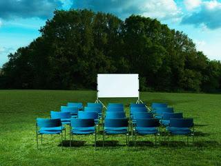 Cine al aire libre (jueves de agosto)