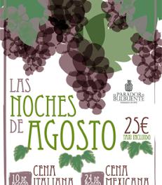 Cenas temáticas, Italia y México (sábados, 10 y 24 de agosto)