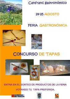 Feria gastronómica y concurso de tapas (24 y 25 de agosto)