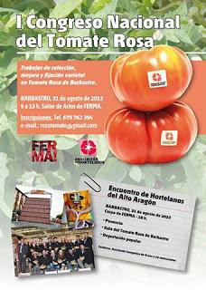 I Congreso nacional y gala del tomate rosa (sábado, 31)