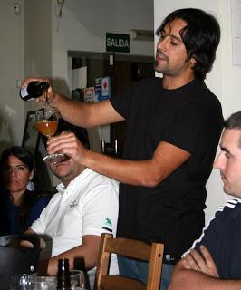 Cena maridada con cerveza (martes, 3 de septiembre)