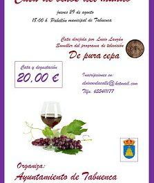 Cata de vinos del mundo (jueves, 29)