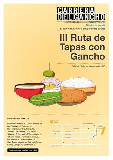 III Ruta de Tapas con Gancho (del 6 al 20 de septiembre)
