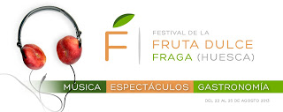 I Festival de la Fruta Dulce de Fraga (del 22 al 25 de agosto)
