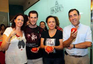 Cata Slow Food de tomates de Aragón (miércoles,  28)