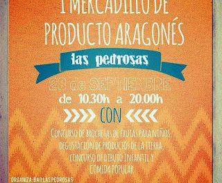 Mercadillo de productos aragoneses (sábado, 28)