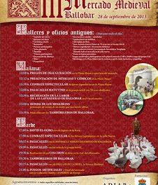 Mercado medieval (sábado, 28)