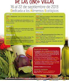 IV Semana Gastroalimentaria de las Cinco Villas (del 16 al 22)
