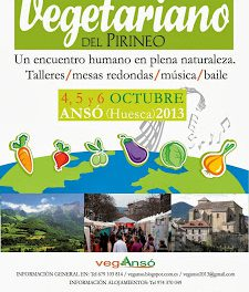 Festival vegetariano del Pirineo (del 4 al 6de octubre)
