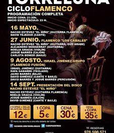 Cena flamenca (sábado, 14)