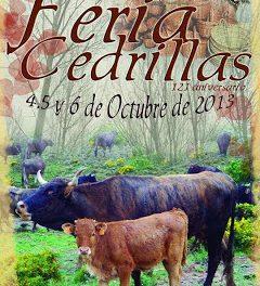 Feria en Cedrillas (del 4 al 6 de octubre)