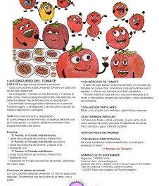 Fiesta del tomate (domingo, 22)