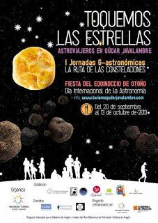 Jornadas de G-astronomía La Ruta de las Constelaciones (del 20 de septiembre al 13 de octubre)