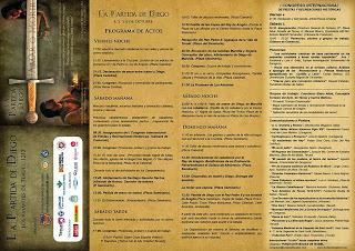 La partida de Diego (del 4 al 6 de octubre)