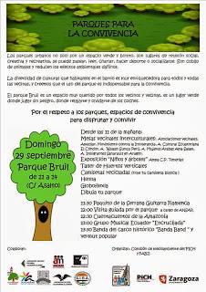 Parques para la convivencia (domingo, 29)