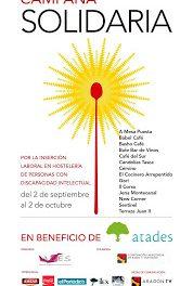 III Campaña solidaria de tapas a beneficio de Atades (hasta el 2 de octubre)