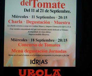 Menú semanal en Urola por 17 euros (del 16 al 20 de septiembre)
