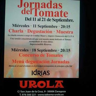 Jornadas gastronómicas sobre el tomate en el Urola (del 12 al 21 septiembre)