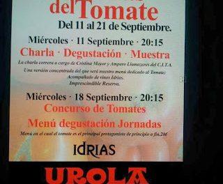 Menú semanal en Urola por 17 euros (del 23 al 27 de septiembre)