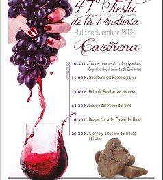 Fiesta de la vendimia en Cariñena (domingo, 8)