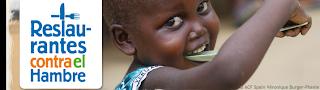 IV Campaña restaurantes contra el hambre (del 15 de septiembre al 15 de noviembre)