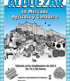 III Mercado agrícola (sábado, 21)