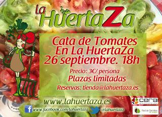 Cata de tomates en La Huertaza (jueves, 26)