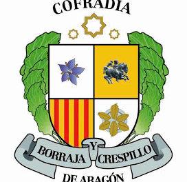 La Cofradía de la borraja y el Crespillo de Aragón en la Ofrenda de frutos (domingo, 13)