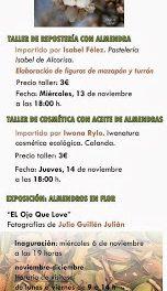 Jornadas en torno a los almendros (del 6 de noviembre a finales de diciembre)
