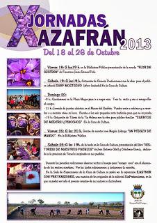 X Jornadas del Azafrán (del 18 al 26 de octubre)