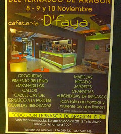 Jornadas gastronómicas del ternasco (del 8 al 10 de noviembre)