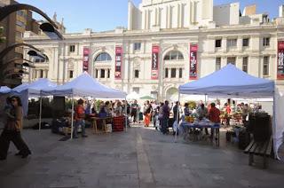 Visita guiada al Mercado agroecológico, dentro de ARAGÓN CON GUSTO (sábado, 9)