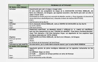 Jornadas micológicas (26 y 27 de octubre)