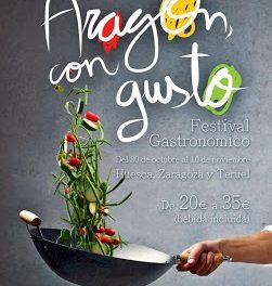 Festival gastronómico Aragón con gusto (del 30 de octubre al 10 de noviembre)